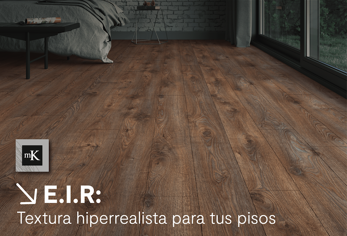 Publirreportaje MK: Textura hiperrealista para tus pisos