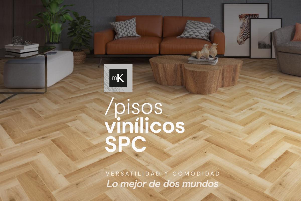 Pisos vinílicos SPC en MK