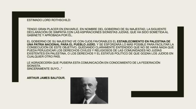 Entrevista con Rodrigo Karmy sobre Declaración Balfour.
