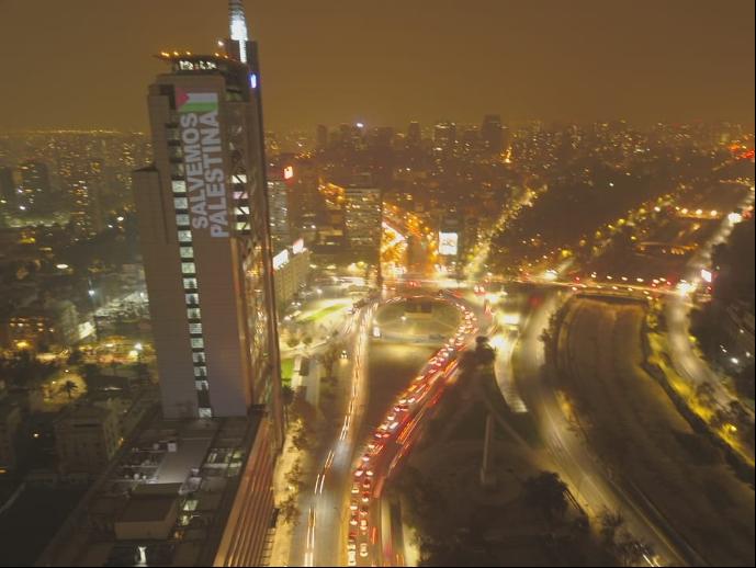 Comunidad Palestina de Chile: Convoca caravanas en todo el país para apoyara las víctimas