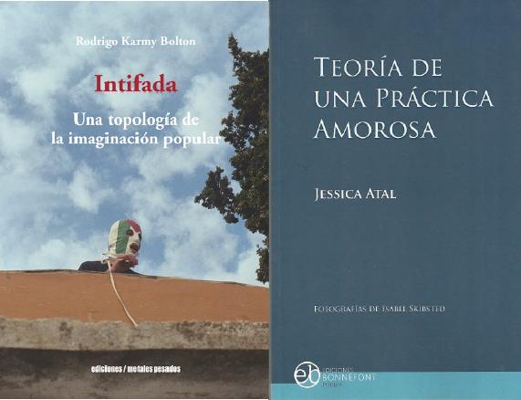 Nuevos libros de Rodrigo Karmy y Jessica Atal