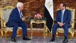 Mahmud Abbas y Abdelfatá al Sisi