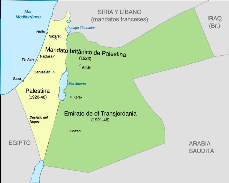 Entrevista sobre el Mandato Británico de Palestina